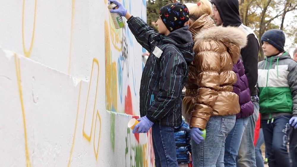 Od soboty mamy w Legnicy nowe grafitti